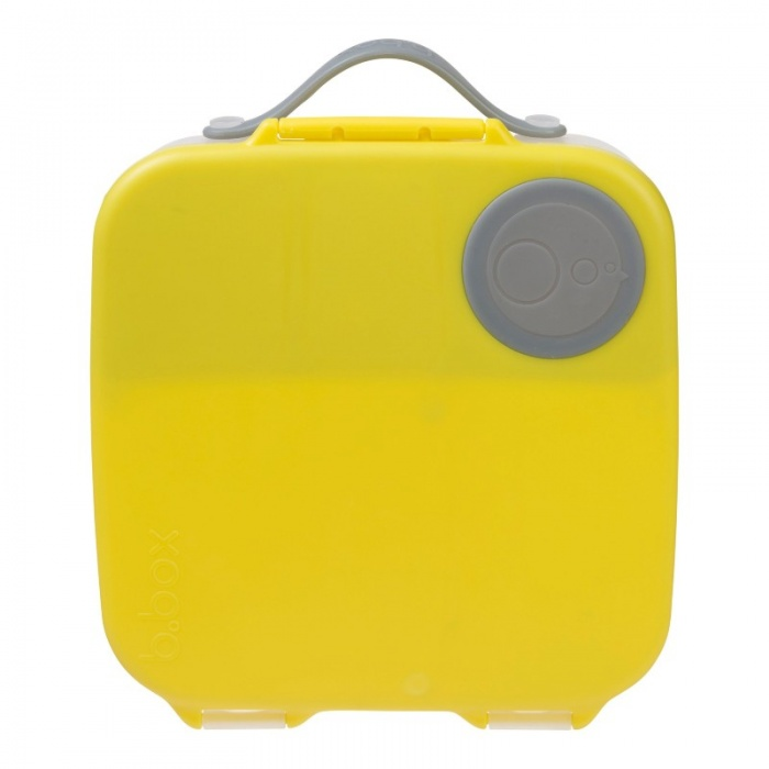 b.box Lemon Sherbet Yellow Kids' Lunch Box