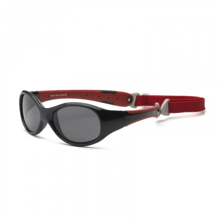 Real Shades Explorer Red/Black Sunglasses for Babies