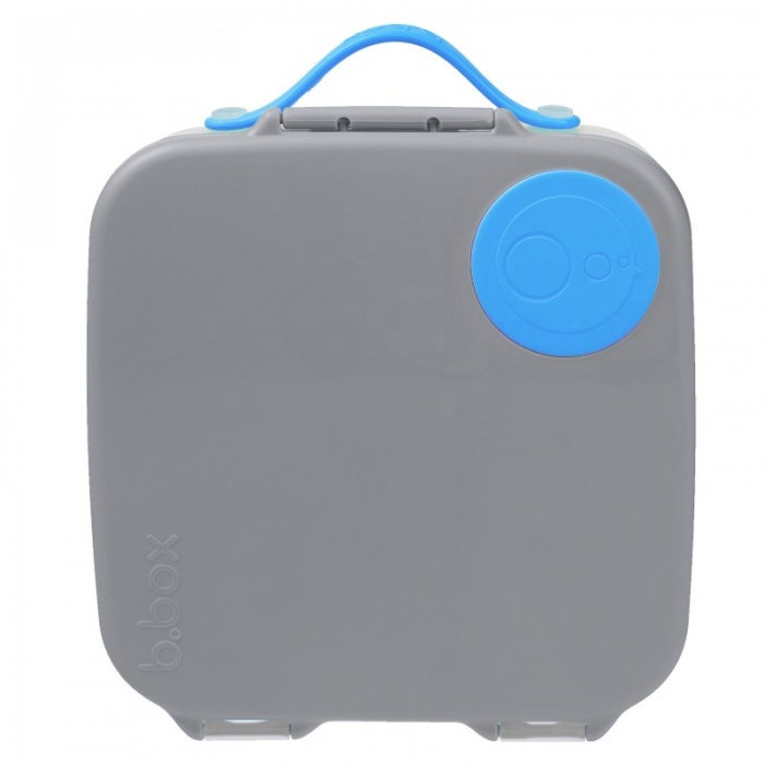 b.box Blue Slate Kids' Lunch Box