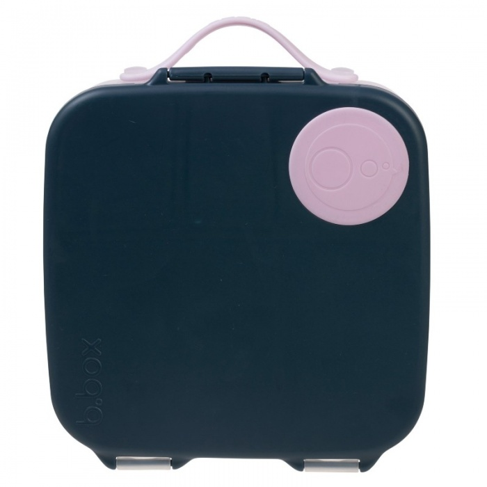 b.box Indigo Rose Navy Kids' Lunch Box