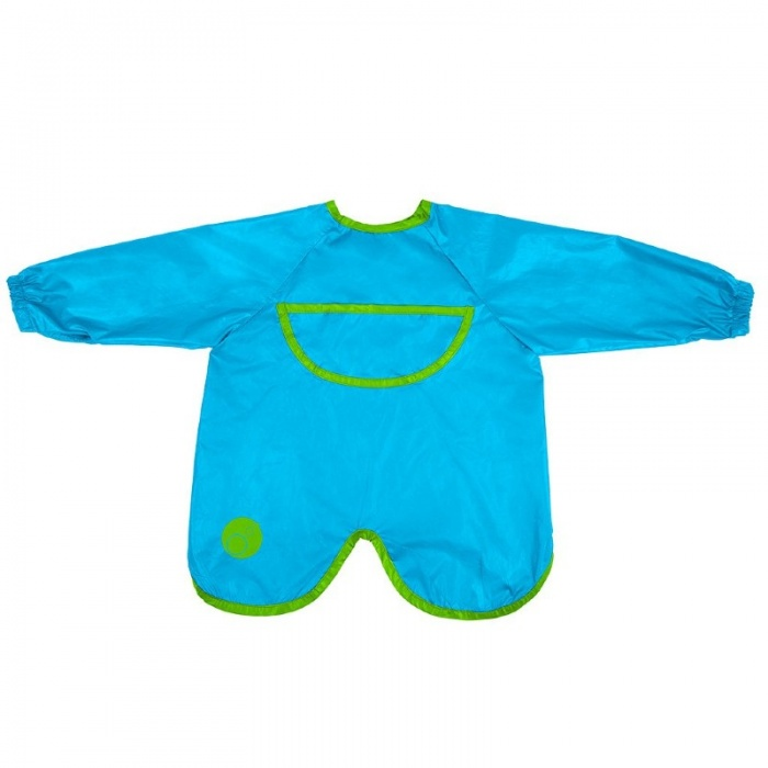 b.box Ocean Breeze Blue Smock Bib