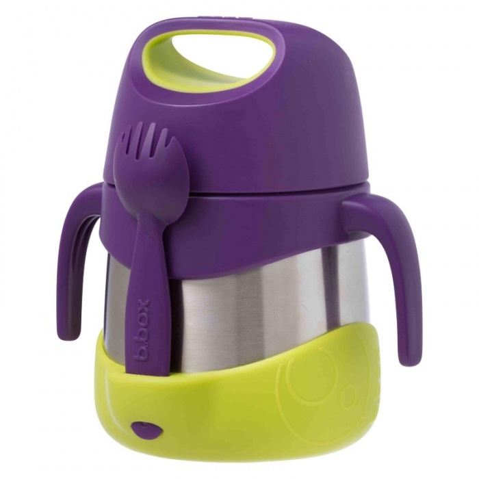 b.box Passion Splash Purple Kids' Insulated Food Jar