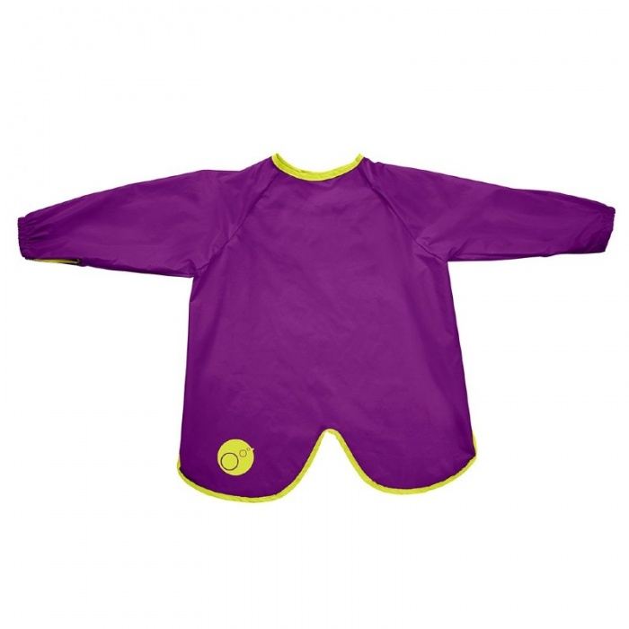 b.box Passion Splash Purple Large Smock Bib
