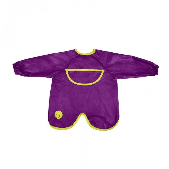 b.box Passion Splash Purple Smock Bib