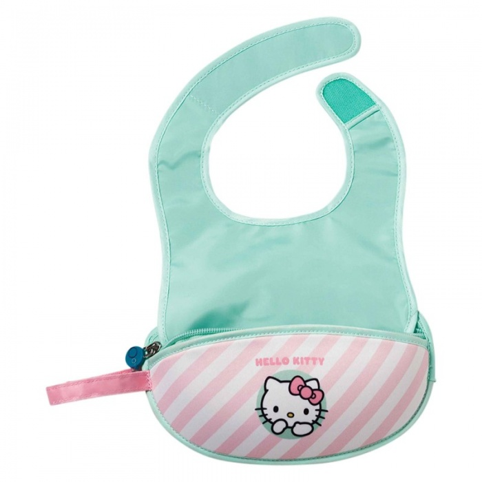 b.box Candy Floss Hello Kitty Baby Travel Bib