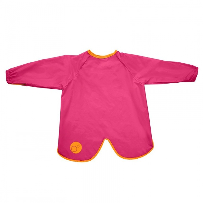 b.box Strawberry Shake Pink Large Smock Bib