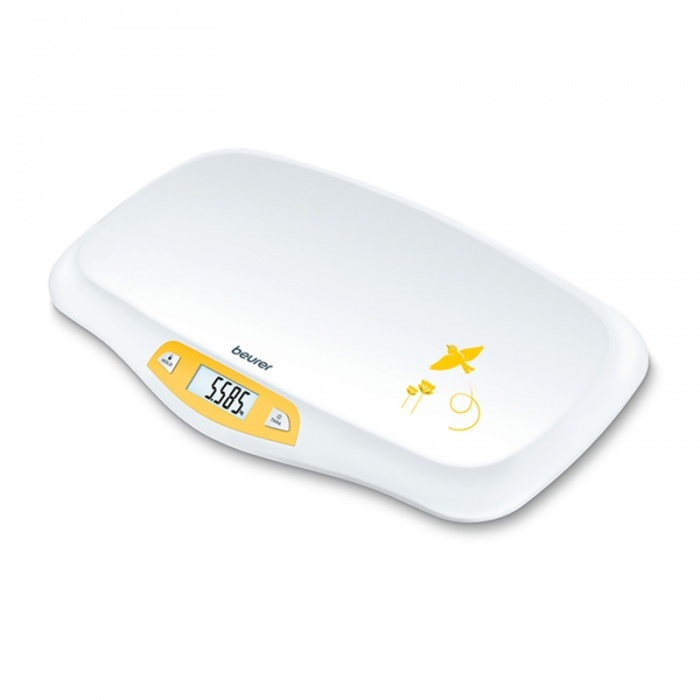 Beurer BY80 Baby Weighing Scales with Curved Weighing Platform