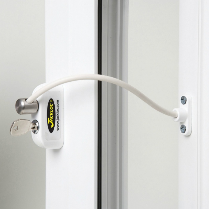 Jackloc Pro-5 Key-Locking Window Restrictor