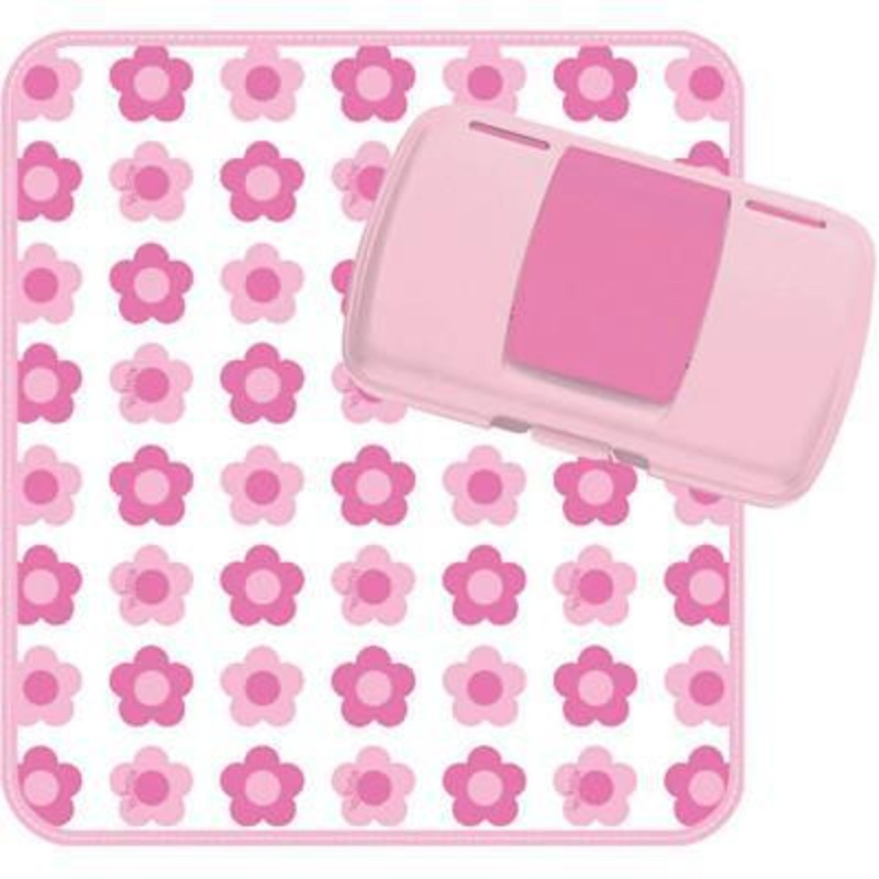 b.box Flower Power Pink Nappy Wallet