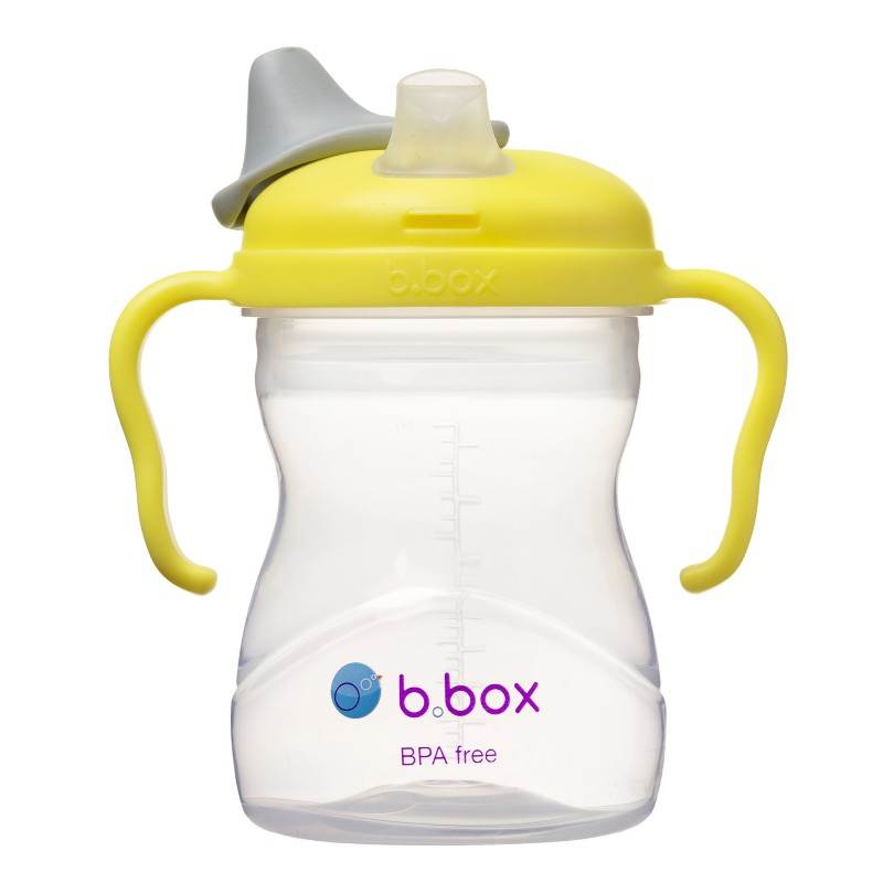 b.box Lemon Yellow Baby Drinking Cup with Spout