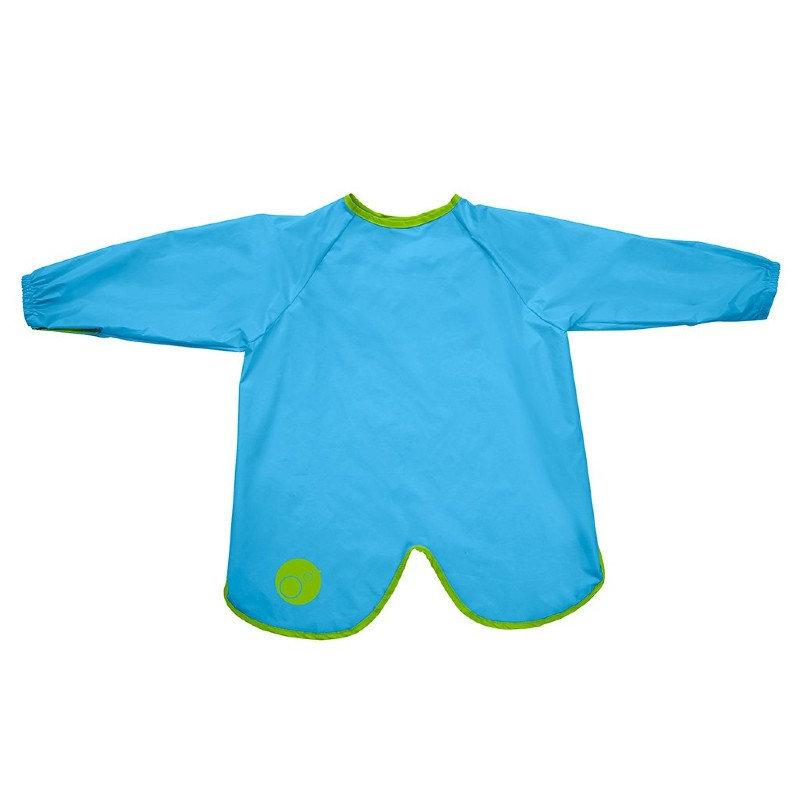 b.box Ocean Breeze Blue Large Smock Bib