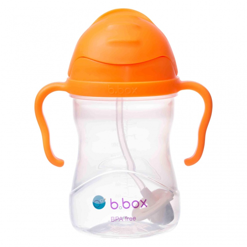 b.box Orange Zing Sippy Cup