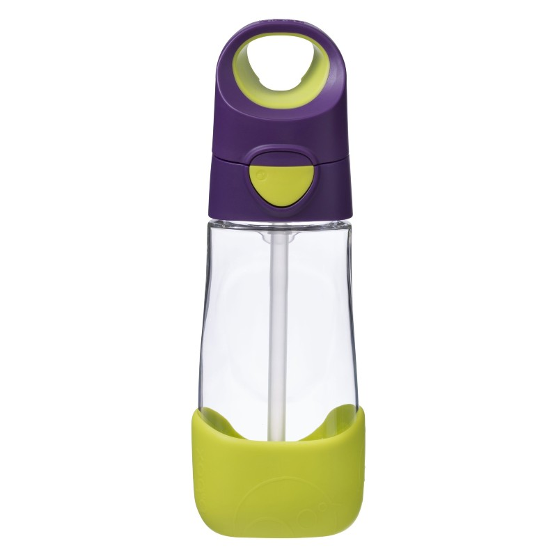 b.box Passion Splash Tritan Purple and Green Kids' Drink Bottle