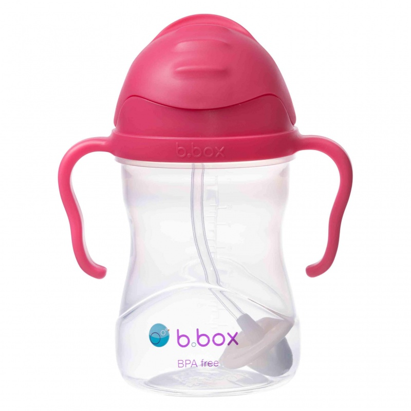 b.box Raspberry Sippy Cup