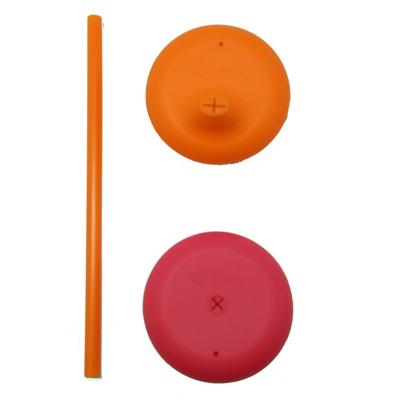 b.box Strawberry Shake Universal Silicone Lid Set