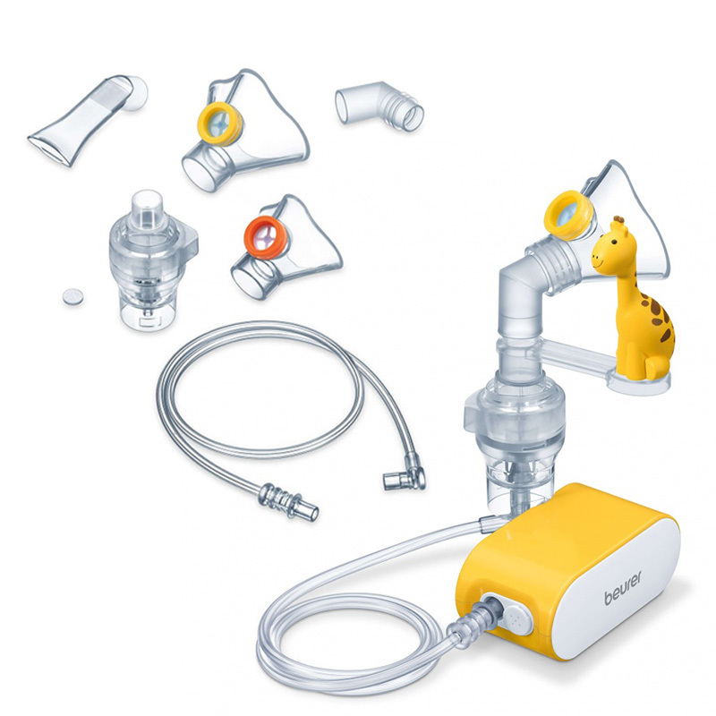 Beurer IH58 Children's Nebuliser and Accessories Bundle