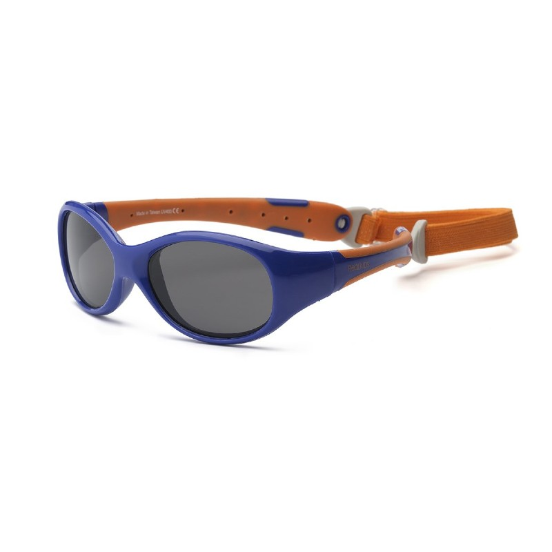 Real Shades Explorer Navy/Orange Sunglasses for Toddlers