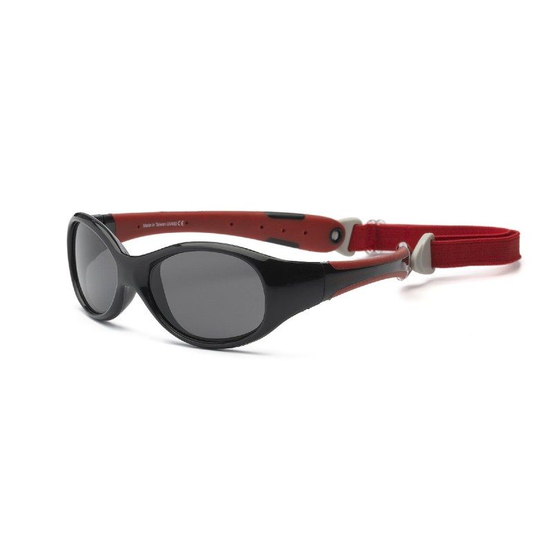 Real Shades Explorer Red/Black Sunglasses for Toddlers