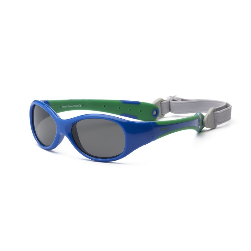 Real Shades Explorer Royal Blue/Green Sunglasses for Babies