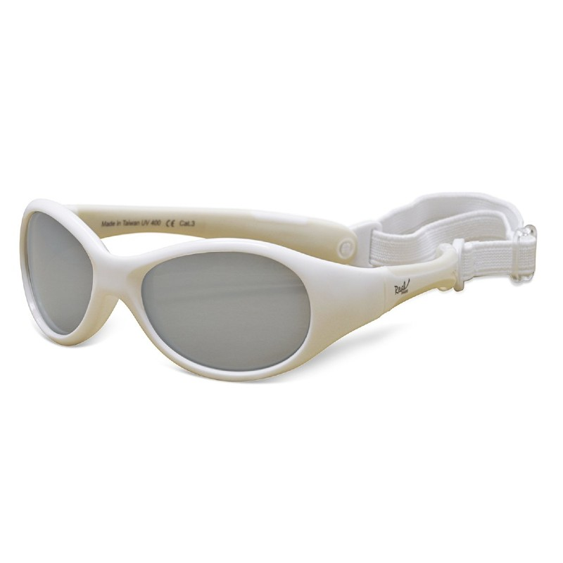 Real Shades Explorer White Sunglasses for Babies