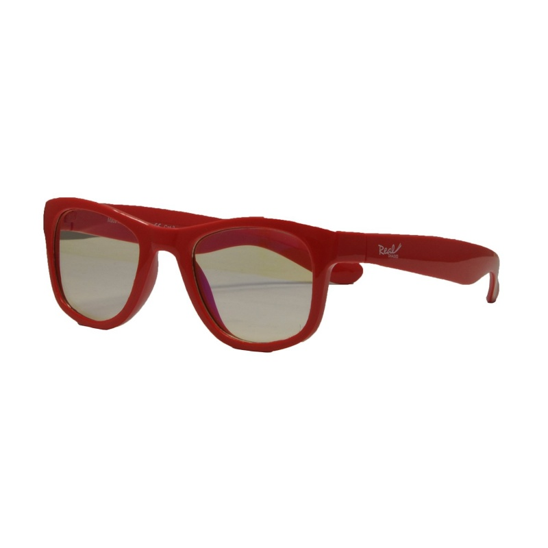 Real Shades Red Screen Glasses for Kids 7+