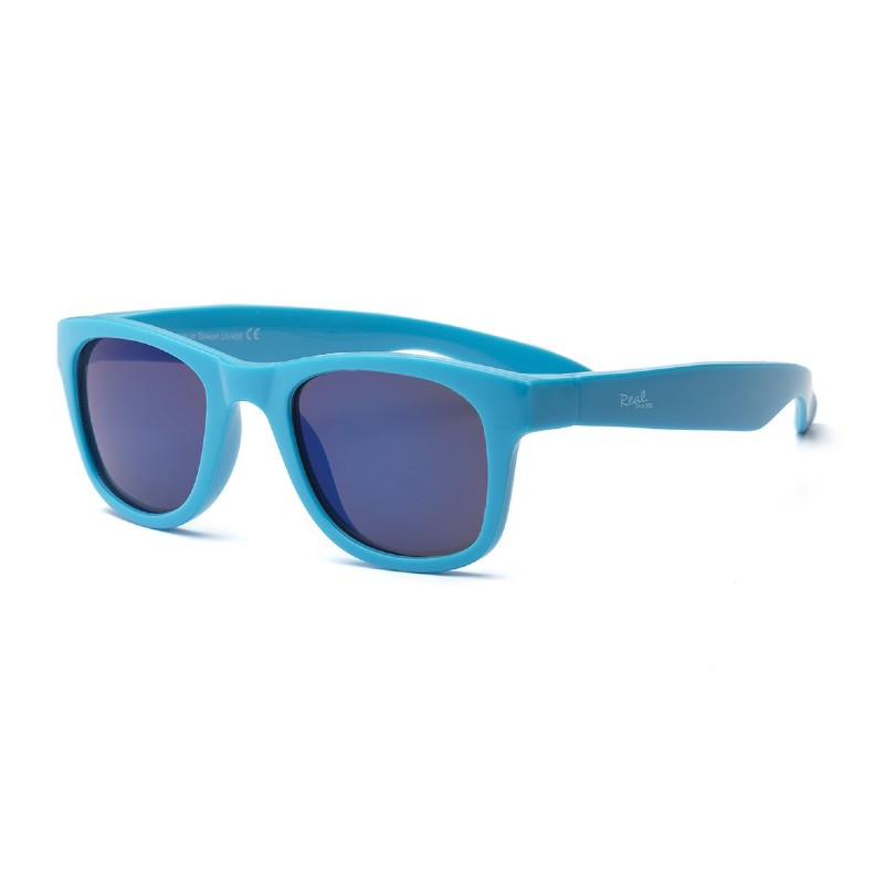 Real Shades Surf Neon Blue Sunglasses for Toddlers