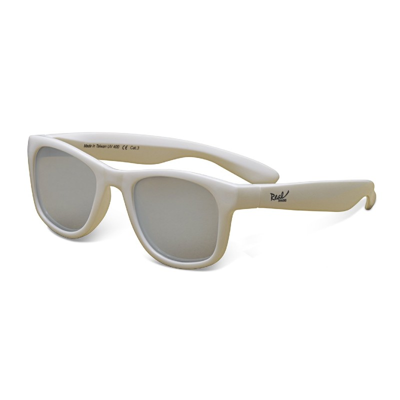 Real Shades Surf White Sunglasses for Babies