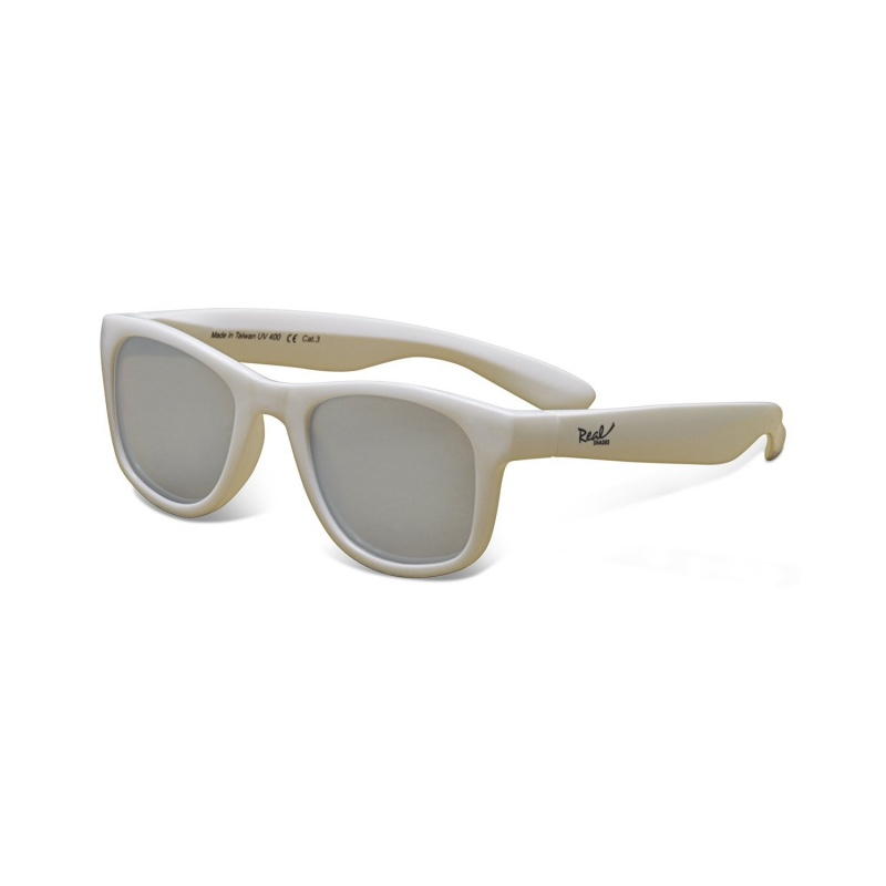 Real Shades Surf White Sunglasses for Toddlers