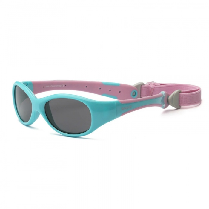 Real Shades Explorer Aqua/Pink Sunglasses for Babies