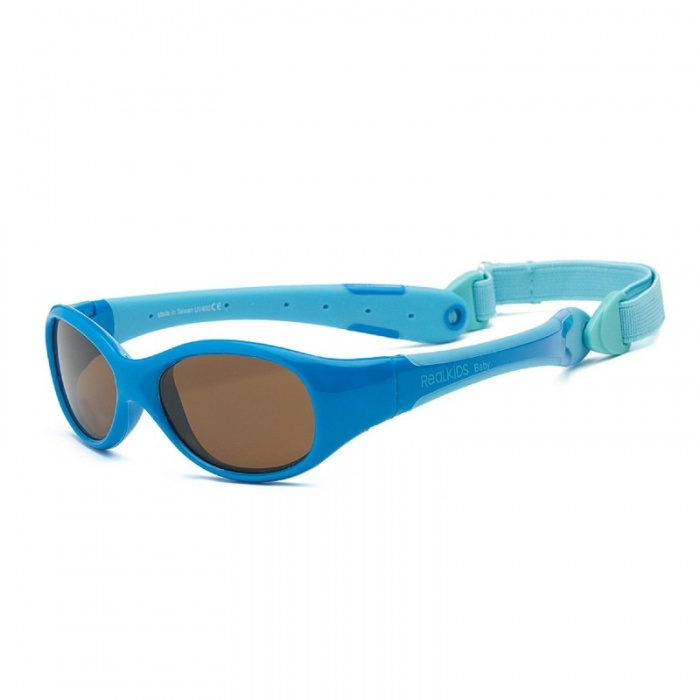 Real Shades Explorer Blue/Light Blue Sunglasses for Babies
