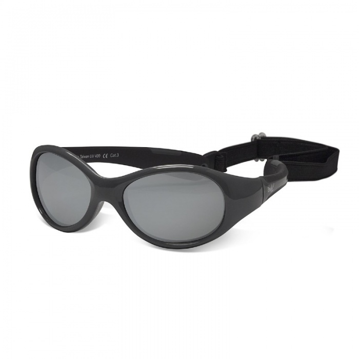Real Shades Explorer Graphite/Black Sunglasses for Babies