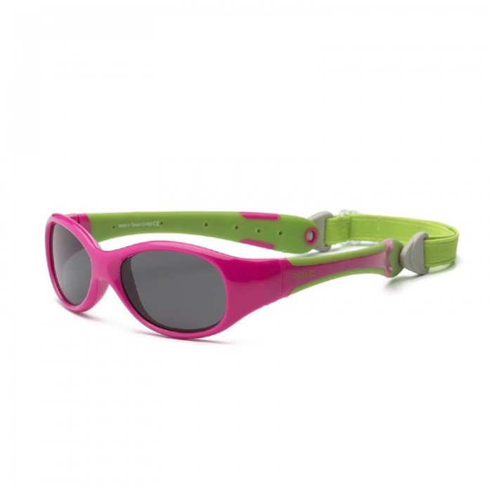 Real Shades Explorer Pink/Green Sunglasses for Babies