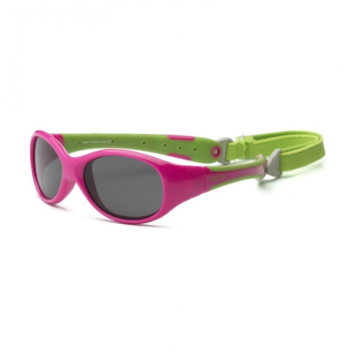 Real Shades Explorer Pink/Green Sunglasses for Toddlers