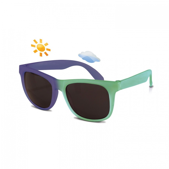 Real Shades Green/Midnight Blue Switch Sunglasses for Kids 4+