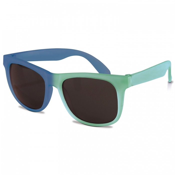 Real Shades Light Green/Royal Blue Switch Sunglasses for Kids 4+