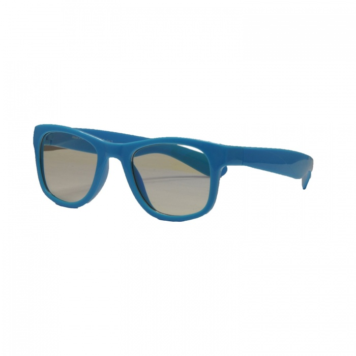 Real Shades Neon Blue Screen Glasses for Kids 4+