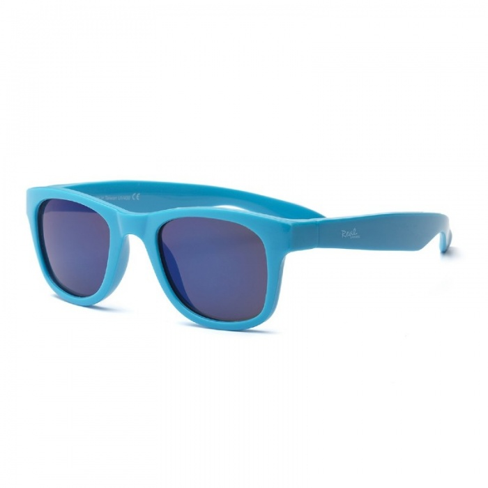 Real Shades Surf Neon Blue Sunglasses for Babies
